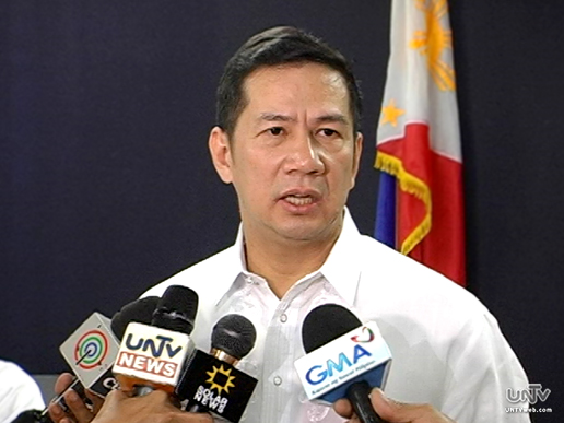 FILE PHOTO: Department of Foreign Affairs Spokesperson Raul Hernandez (UNTV News)