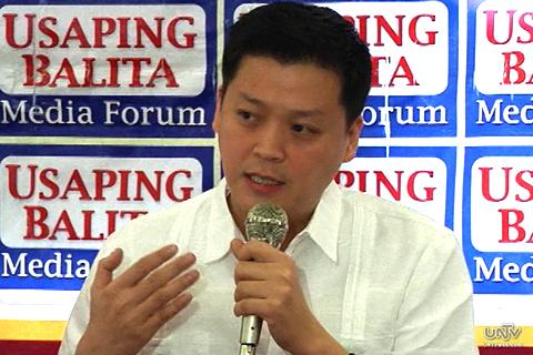 Valenzuela Rep. Rex Gatchalian, Nationalist People's Coalition Spokesman (UNTV News)