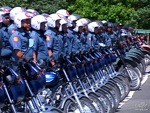 FILE PHOTO: PNP personnel with motorcycle units (UNTV News)
