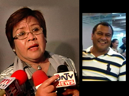 FILE PHOTOS: DOJ Sec. Leila De Lima and Aman Futures founder and CEO