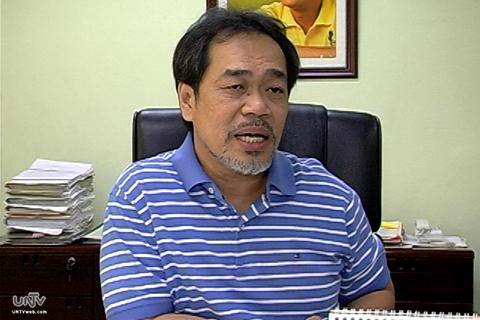 FILE PHOTO: Land Transportation Franchising and Regulatory Board  Chairman Jaime Jacob (UNTV News)