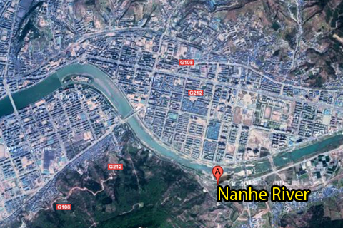 Google Map: Nanhe River
