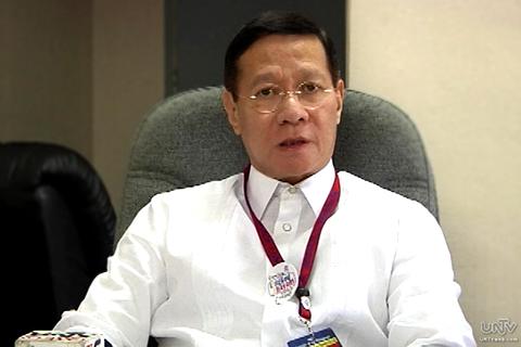 Civil Service Commission Chairman Francisco Duque III (UNTV News)