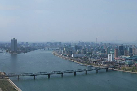 FILE PHOTO: A part of cityscape at Pyongyang, North Korea (Wikipedia)