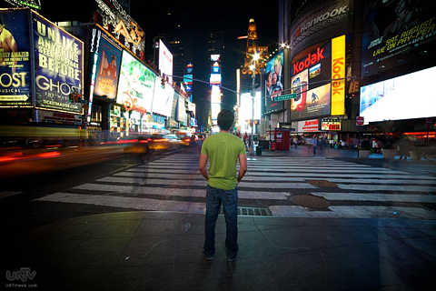 "FILE PHOTO: Ang Times Square sa Midtown Manhattan, New York City na tinagurian ding  ""The Crossroads of the World"" at ""The Great White Way"". (PHOTOVILLE International / Aaron Romero)"