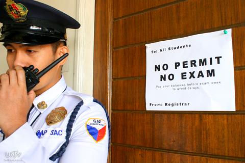 """No permit, no exam"""" policy sa mga paaralan, ipinagbawal na ng CHED"""
