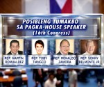 GRAPHICS: Mga Possibleng tumakbo sa pagka-House Speaker sa 16th Congress (UNTV News)