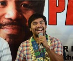 FILE PHOTO: Re-Elected Sarangani Representative Manny 'Pacman' Pacquiao (RITCHIE TONGO  / Photoville International)