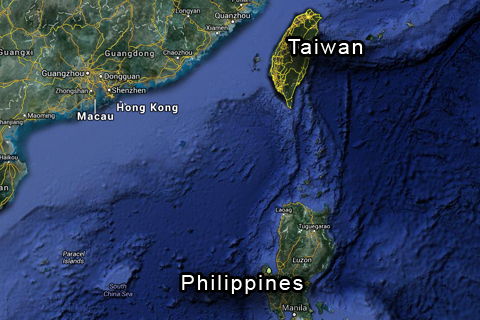 how to call taiwan from philippines