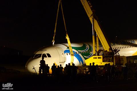 FILE PHOTO:  Cebu Pacific Flight 5J971 (RITCHIE TONGO / Photoville International)