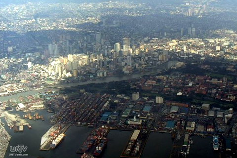 FILE PHOTO: Port of Manila with overview of surrounding buildings and other establishments. (MARY ROSE DANIEL GOB / Photoville International)