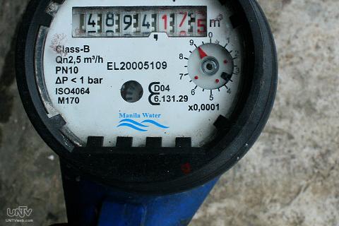 FILE PHOTO: Isang water meter ng Manila Water  (RAYMOND BALA LACSA / PHOTOVILLE INTERNATIONAL)