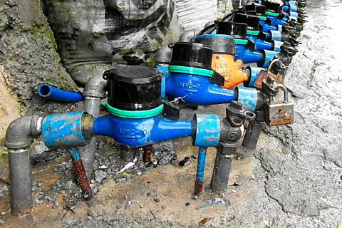 how to read water meter maynilad