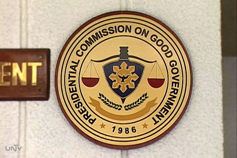 Logo of Presidential Commission on Good Government (PCGG)