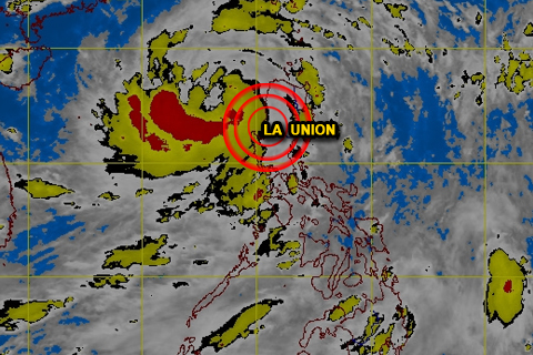 MTSAT ENHANCED-IR Satellite Image  6:32 p.m., 12 August 2013 (CREDITS: DOST-PAGASA)