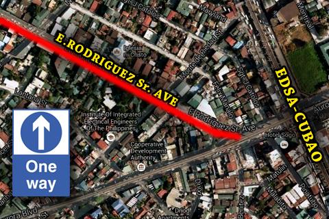 Cubao x Map Google Map Edsa-cubao