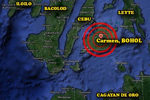 Google Maps: Bohol