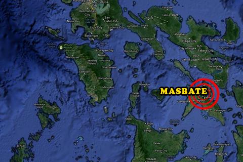 Masbate Philippines Map.Pinsala Sa Agrikultura At Pangisdaan Sa Masbate Umabot Sa P200 M