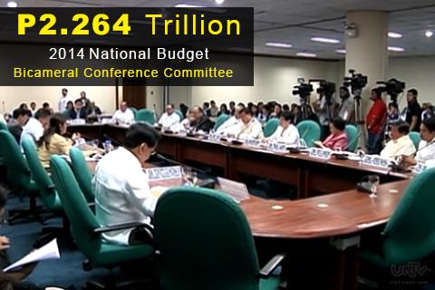 Ang Bicameral Conference Committee sa pagpasa sa 2014 National Budget (UNTV News)