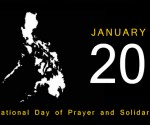 January 20, 2014: National Day of Prayer and Solidarity (Artist impression only)