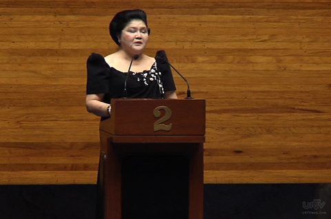 Ilocos Norte Representative Imelda Marcos. File Photo: UNTV News