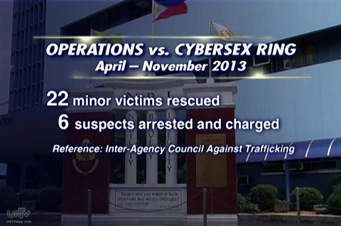 Operations vs Cybersex Ring from April-November 2013 (IACAT)