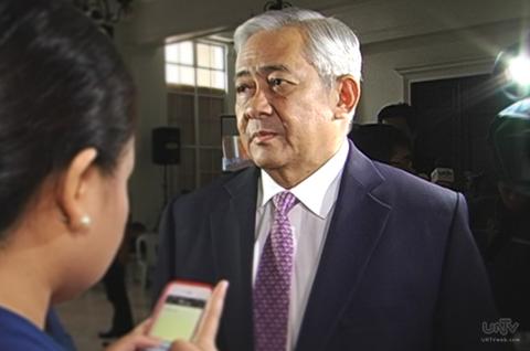 FILE PHOTO: Ang Abogado ng Pamahalaan, Solicitor General Francis Jardeleza (UNTV News)(