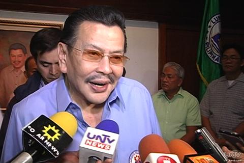 Former President Joseph 'Erap' Ejercito Estrada (UNTV News)