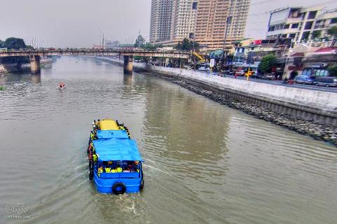 Pasig River Ferry Schedule Para sa Pasig River Ferry