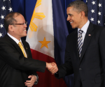 FILE PHOTO: President Benigno S. Aquino III with U.S. President Barack Obama during a bilateral meeting held at the Grand Hyatt Hotel in Bali, Friday, November 18, 2011. (Malacañang Photo Bureau)