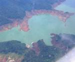 FILE PHOTO: Ang bahagi ng Angat Dam na kuha mula sa isang eroplano na nagsasagawa ng cloud seeding noong September 2010. (UNTV News)