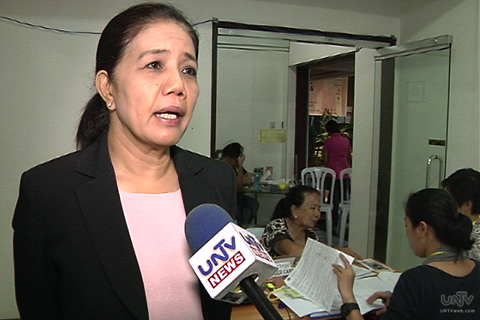 Human Rights Victims Claims Board Chairperson Lina Sarmiento (UNTV News)