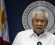 Philippine Foreign Secretary Albert del Rosario delivers a statement during a news conference in Manila March 30, 2014. CREDIT: REUTERS/ROMEO RANOCO