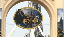 Wizarding World of Harry Potter facade CREDIT : REUTERS