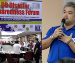 Ang paglahok ng UNTV News and Rescue Team sa Disaster Preparedness Forum na inorganisa ng Local Government Unit ng Quezon City District 6. (UNTV News)