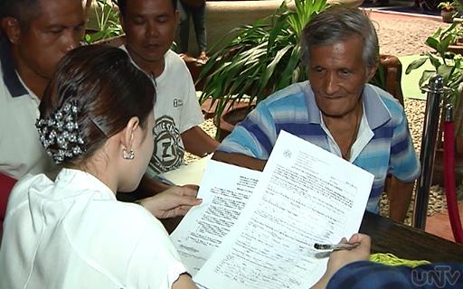 Halos kalahati na ng bilang ng mga martial law victim ang nkapag-apply na ng kanilang compensation claims sa Human Rights Victims' Claims Board. (UNTV News)