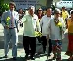 Ginunita ng Ninoy Aquino Movement ang  ika-31 death anniversary ni dating Senator Ninoy Aquino sa Tarmac ng NAIA Terminal 1 kung saan ito ina-sassinate (UNTV News)