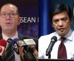 (Left -Right) Department of Health (DOH) Assistant Secretary Eric Tayag at Department of Foreign Affairs (DFA) Charles Jose (UNTV News)