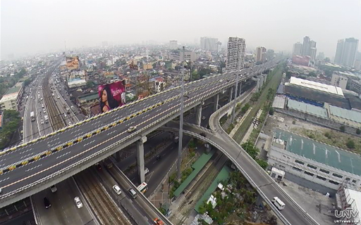 UNTV Drone shot : Magallanes Interchange (UNTV News)