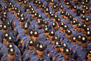 FILE PHOTO: Members of Philippine National Police in formation (UNTV News)