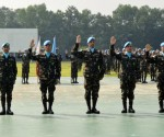 28 November 2013 FILE PHOTO: 7th Philippine peacekeeping force bound for the Golan Heights Philippine (AFP-PAO)
