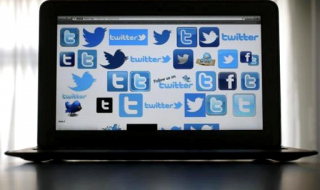 An illustration picture shows Twitter logos on a computer screen in Frankfurt, October 21, 2013. CREDIT: REUTERS/KAI PFAFFENBACH