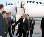 Ang pagdating ni Pangulong Benigno Aquino III sa bansang Espanya para sa walong araw na working visit. (MALACANANG PHOTO BUREAU)