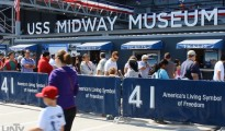 Dinarayo ng mga turista sa San Diego, California ang USS Midway Museum, ang most-visited naval ship museum sa buong mundo (UNTV News)