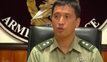 FILE PHOTO: AFP PIO Chief Lt. Col. Ramon Zagala (UNTV News)