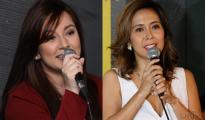 (Left-Right) Sina Ms. Lilet Cruz at Rachel Alejandro na kapwa nagpahayag ng pagpapasalamat sa pagiging bahagi ng A Song of Praise Music Festival Year 3. (Rodel Lumiares / UNTV News)