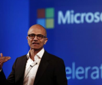 Microsoft Chief Executive Officer (CEO) Satya Nadella addresses the media during an event in New Delhi September 30, 2014. CREDIT: REUTERS/ADNAN ABIDI