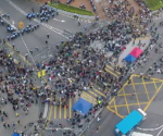 UNTV Drone Capture: Occupy Hong Kong Protest