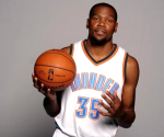 Sep 29, 2014; Oklahoma City, OK, USA; Oklahoma City Thunder forward Kevin Durant (35) poses during media day at Chesapeake Energy Arena. Mandatory Credit: Mark D. Smith-USA TODAY Sports