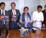 Sina DOJ Sec. Leila De Lima, USec. Francisco Baraan III kasama ang mga ambassador mula sa Italy sa pagsusulong ng pagbubuwag ng death penalty. (UNTV News)